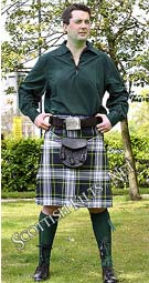 picture of jc in casual kilt